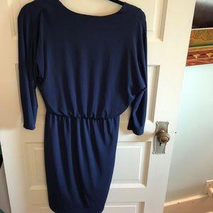 White House Black Market Dresses - Blue White House Black Market Dress Size 8